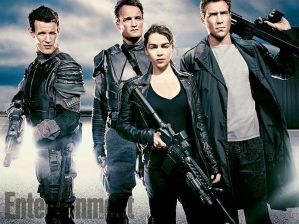Terminator Genisys: Emilia Clarke, Matt Smith, Jason Clarke, and Jai Courtney