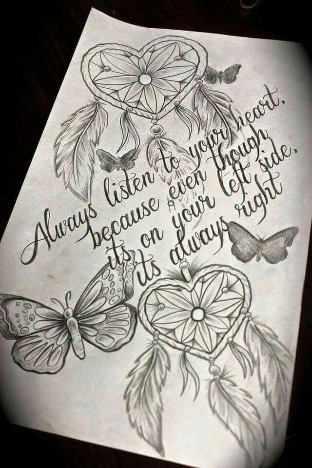 Would be cute on as a thigh tattoo