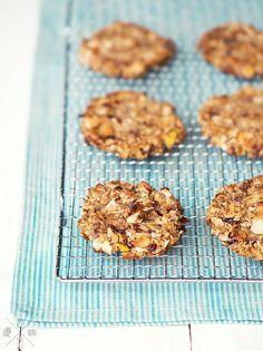 Gluten free, sugar free Apple Coconut Cookies | relleomein.de