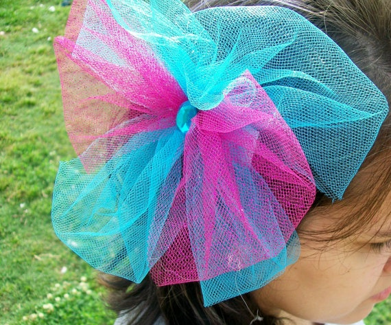 18 Best Images About Tulle Hair Bows On Pinterest Tulle