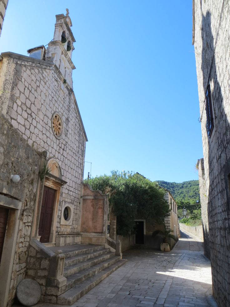 Stari Grad, Hvar Island, Croatia // Old town streets -- quiet and charming