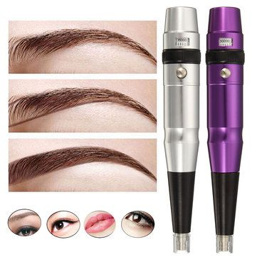 Permanent Eyebrow Lip Makeup Machine Liner Tattoo Rotary Pen