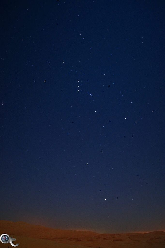 The #constellation of #Orion at #Liwa #Desert by night - Western Region - #abudhabi #nikonphoto_ #nikontop #andreaturno @andreaturno