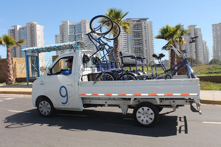 Llegamos a todo Chile, y donde nos lleven las ruedas
