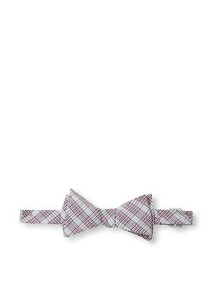 71% OFF Ivy Prepster Men's Traditions Check Plaid Bow Tie, White