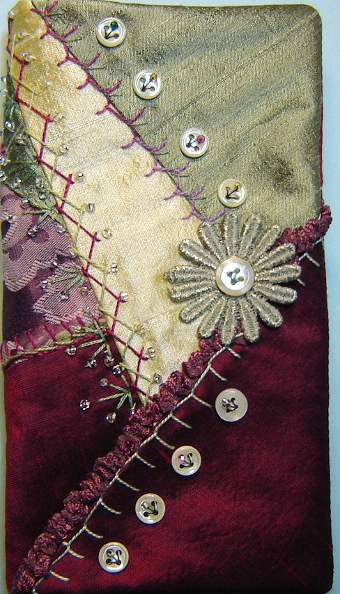 25+ best ideas about Crazy Quilt Stitches on Pinterest Hand embroidery stitches, Basic ...