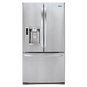 27.6 cu. ft. French Door Refrigerator in Stainless Steel-LFX28978ST at The Home Depot