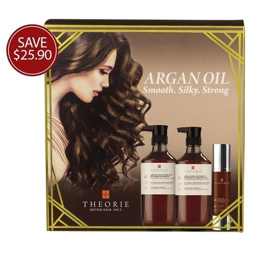 Theorie Argan Oil Smooth Silky Strong Pack   Now only $69.95