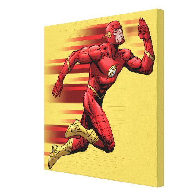 Flash Running Canvas Print Sponsored Aff Canvas Print