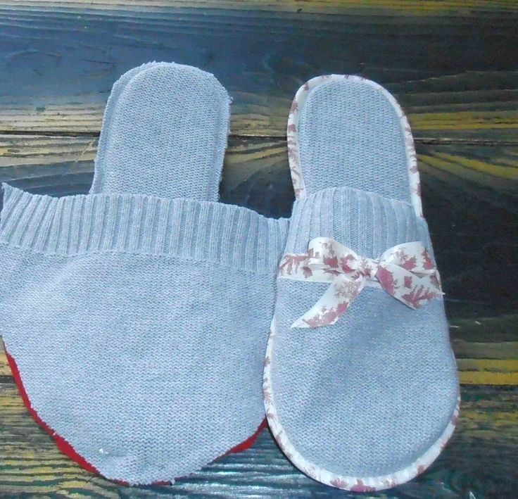 Tuto des chaussons et du sac à bouillotte mon petit cadeau pas cher pour la fête des mères