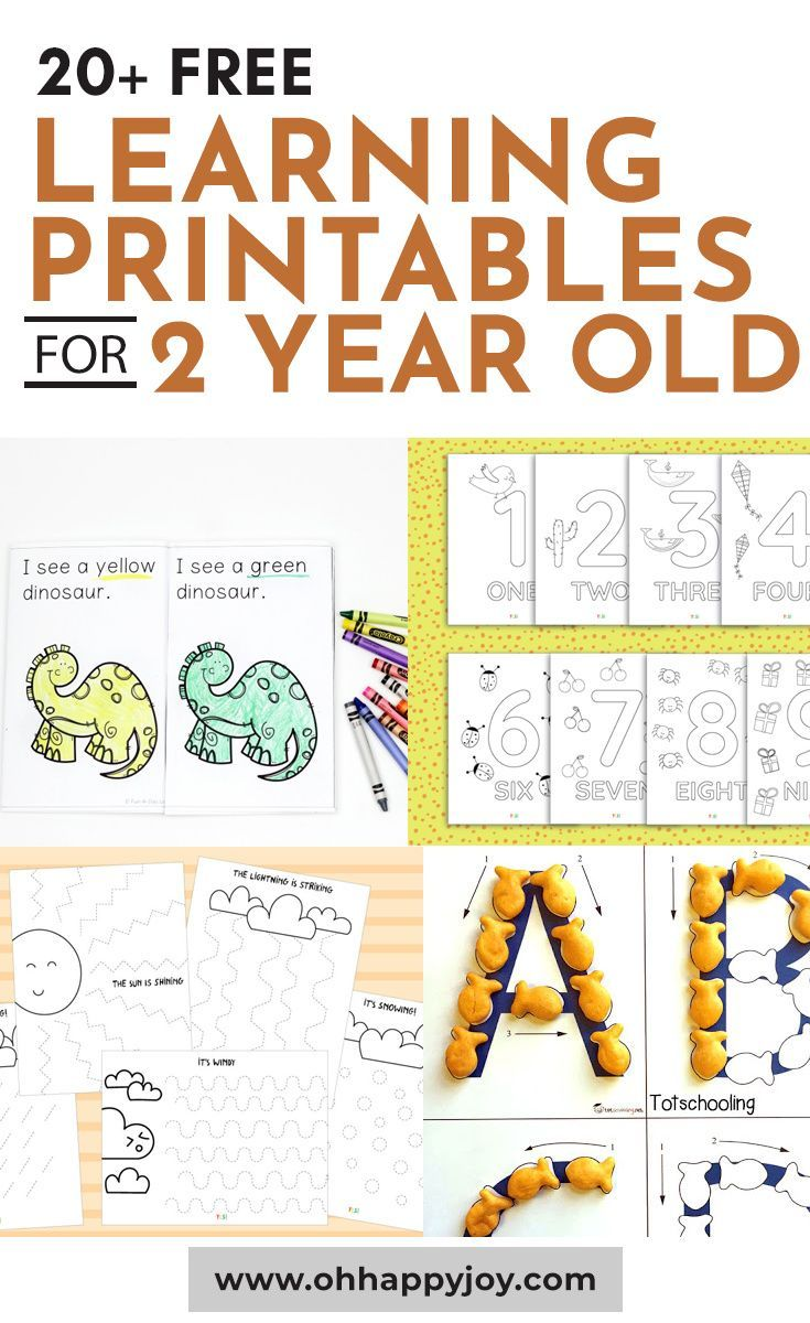 Learning Printables For 2 Year Old Oh Happy Joy In 2020 Learning Printables Fall Preschool Worksheets Baby Development Milestones