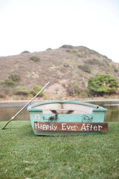 wedding day boat