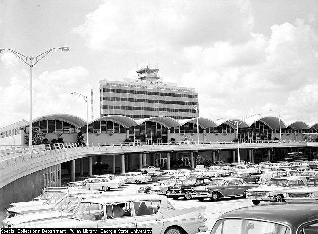 Best Atlanta GA Then And Now Images On Pinterest Airplanes - Georgia airports