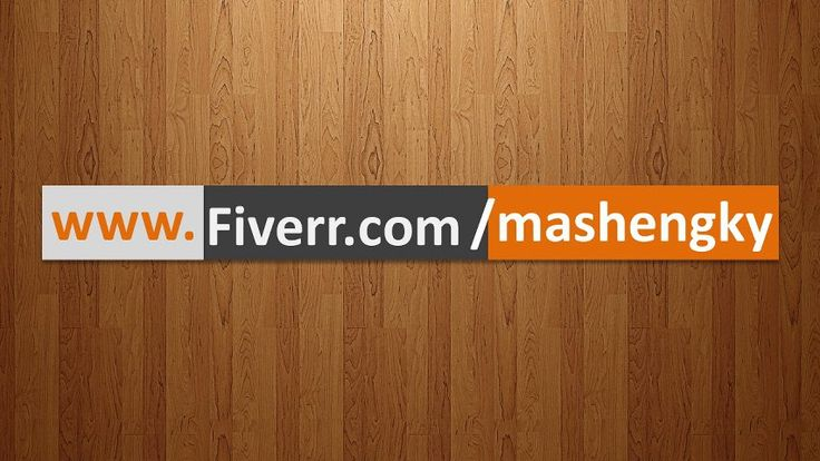 mashengky: make your logo and website in 5 COOLEST video format with music to maximize your brand for $5, on fiverr.com