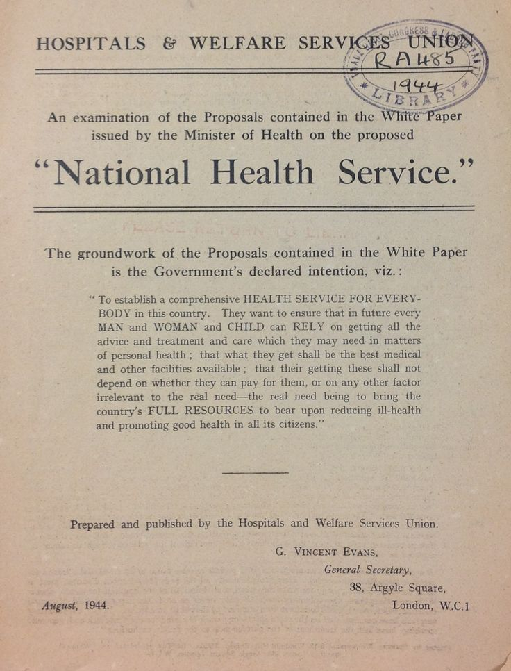 Essay on national health service