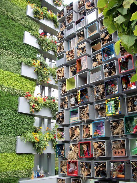 coooooool   :)  Bug Hotel at chelsea flower show by b16dyr, via Flickr