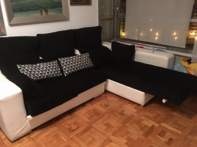 150€ oviedo Sofá chaise longue con almacenaje