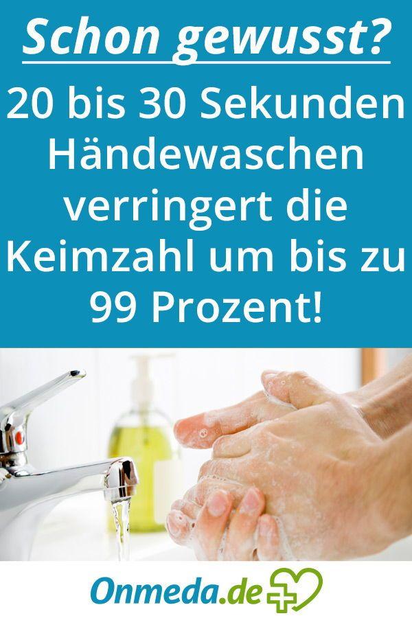 Handewaschen Schutz Vor Infektionen Gesundheitstipps