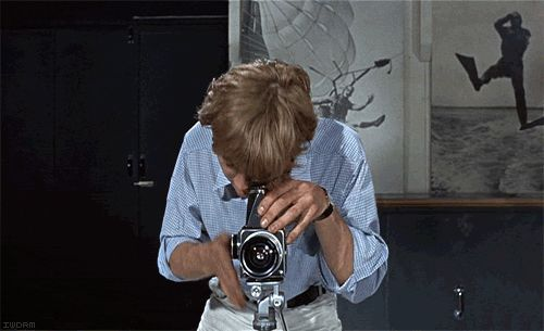 """Some people are bullfighters, some people are politicians. I'm a photographer.""    Blow-Up (1966)"