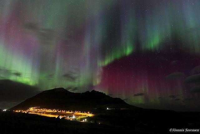 Northern Lights - Faroe Islands, Norway