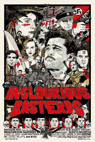 bastardi senza gloria poster