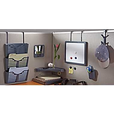 dps by Staples® Verti-Go™ Cubicle and Wall Accessories - might have to look for these, love that corner shelf