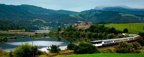 El Transcantabrico: en tren de Lujo por el Norte de España