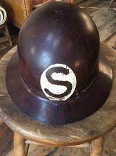 vintage welding helmet Fiberglass Hard Hat