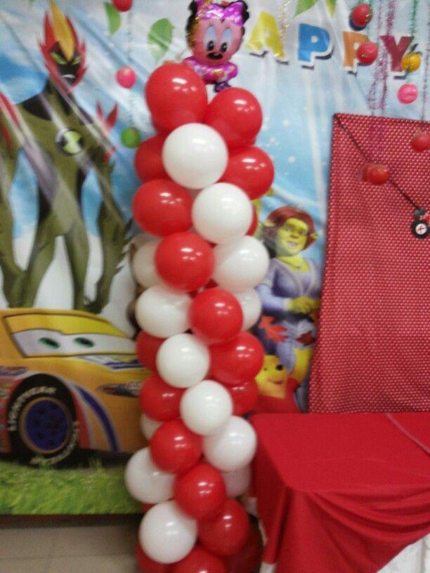 Ballon minnie mouse themed