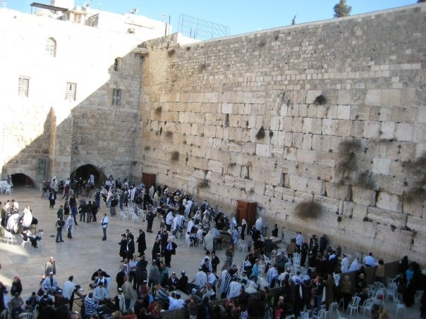 #PotentialistCanada .....I cried at the wailing wall knowing that not too far was another wall that for some was like living in prison.