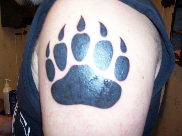 best 25 bear claw tattoo ideas on pinterest wolf paw print wolf print tattoo and wolf paw. Black Bedroom Furniture Sets. Home Design Ideas