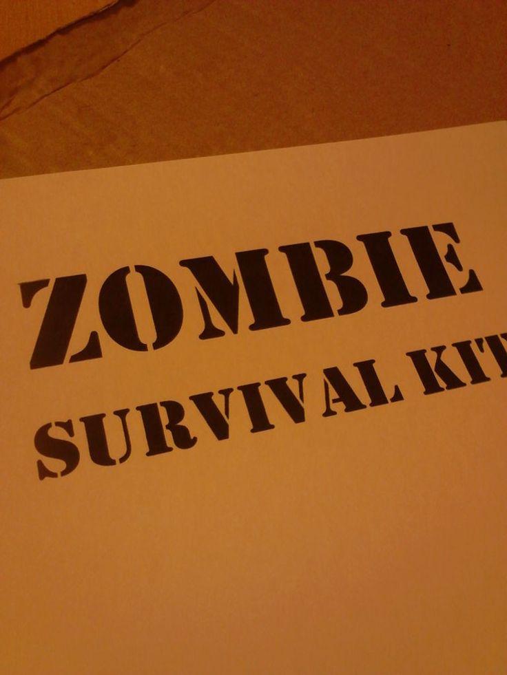 75 best survival kit done images on Pinterest Zombies survival