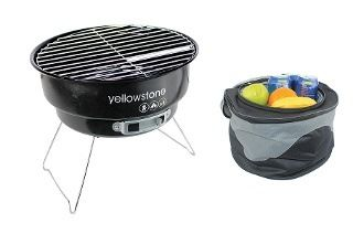 Folding BBQ With Cooler Bag for £12.98 With Free Delivery