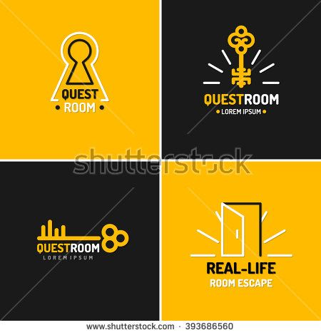 Real Life Room Escape The Logo For Quest