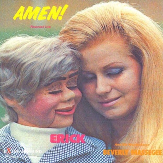 Amen! by Erikk - Bad Album Cover