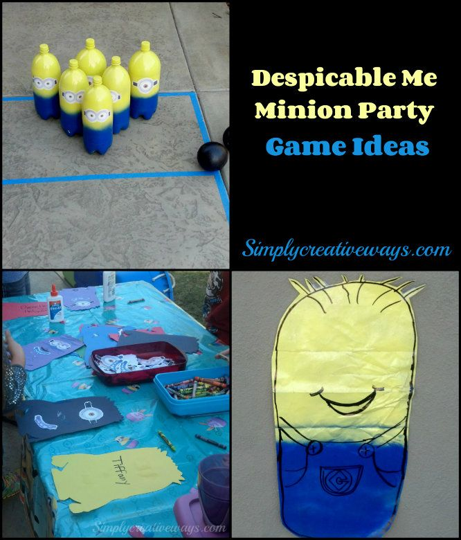 Despicable Me Minion Party Game Ideas