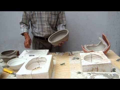 como hacer un molde de silicona para reproducir figuras en resina o yeso - YouTube