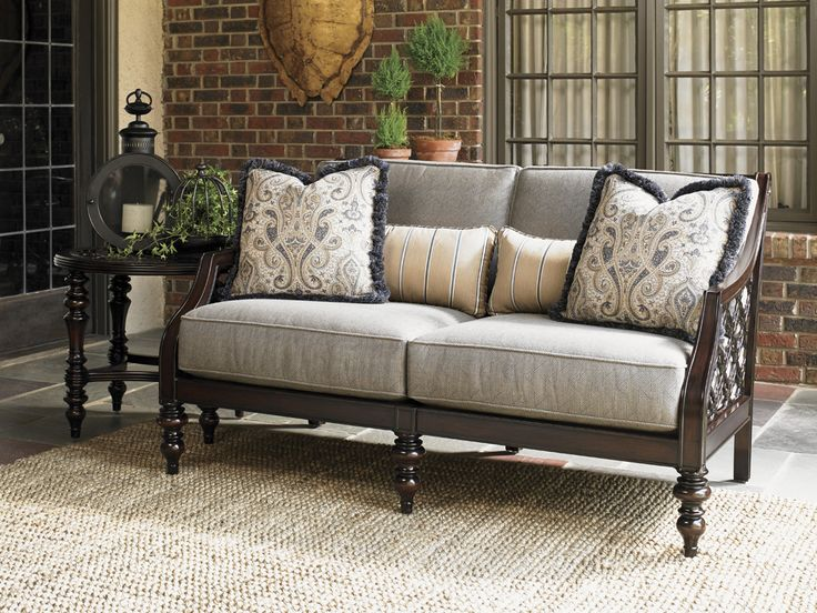 Black Sands Outdoor Love Seat   Traditional Tommy Bahama Outdoor Living