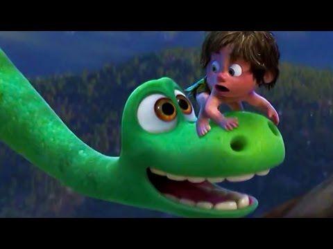 Мультфильм The Good Dinosaur full trailer 2015 (Хороший динозавр)   HD трейлер на английском   Актер - YouTube