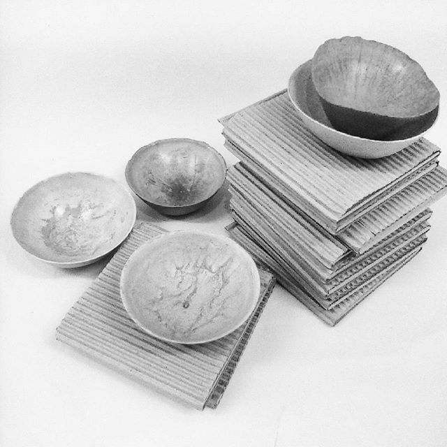concrete daily objects ready for Benaki museum,Athens