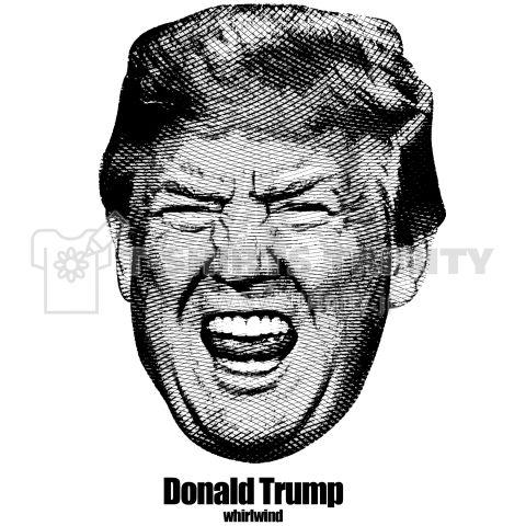 ドナルド トランプ旋風 Impact Cool Design    破竹の勢いでアメリカ大統領へと突き進むドナルド・トランプ。  ドナルド・トランプ支持者は言う  「マンネリ化した政治にはもう飽き飽きだ!ドナルド・トランプにはビジネスマンとして国を動かしてほしい」  新しい未来へと向かう地球。  この狂った世界を変えるには新しい選択が必要だ。  普通では成り立たない。  今までにない斬新なアイデアそして行動こそが未来をつなぐ鍵になるのかもしれない。  そんなトランプのアップのImpact Tシャツ