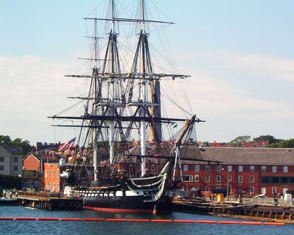 USS Constitution, Boston - A special place where I meet my husband a crew member at the time.