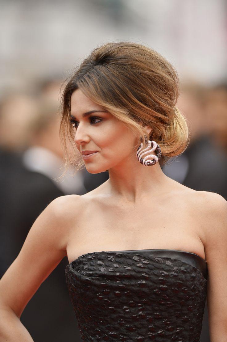Le Chignon bouffant de Cheryl Cole - Festival de Cannes 2014