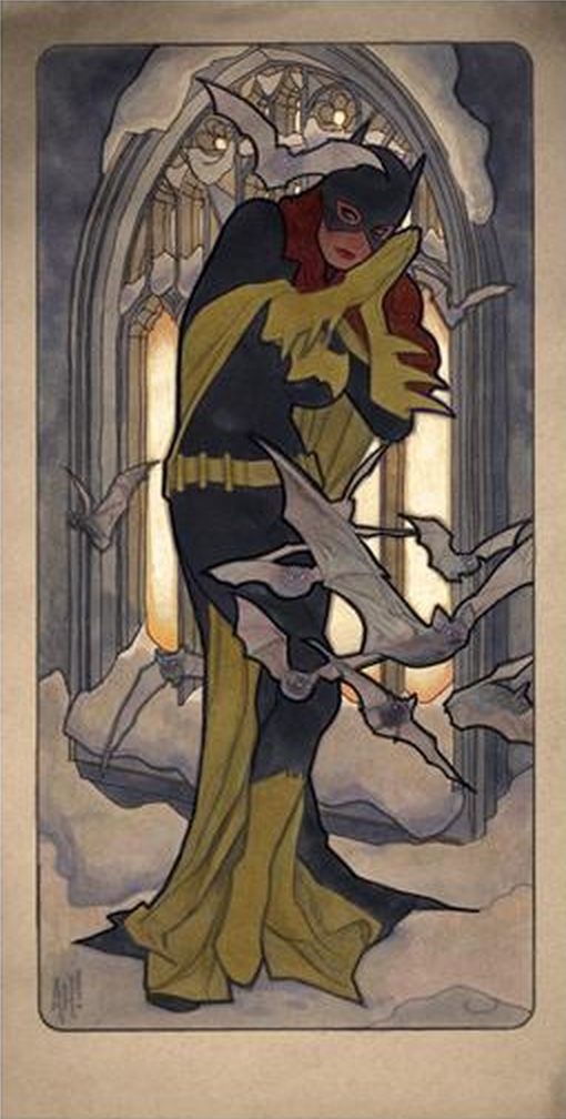 Batgirl by Adam Hughes *                                                                                                                                                                                 More