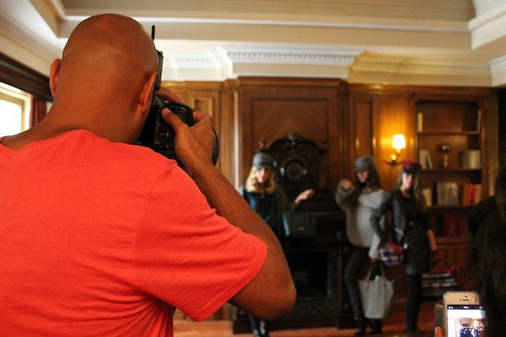 Fw 14-15 Backstage by Doca #shooting http://www.doca.gr/el/doca-campaign/backstage.html