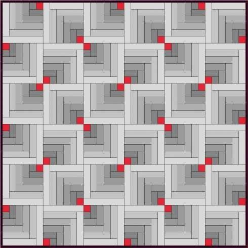 From Marisa - Log Cabin tutorial w/many variations