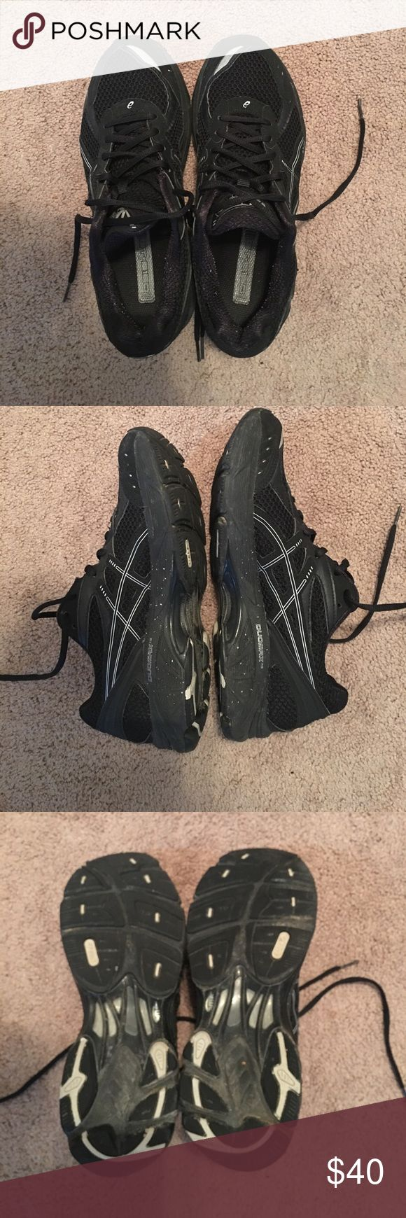 Asics Gel IGS women's size 10 all black Asics IGS Gel All black Women's size 10. Like new. Hardly worn all black shoes. Great shoes to run in or work all day on your feet in. Asics Shoes Athletic Shoes
