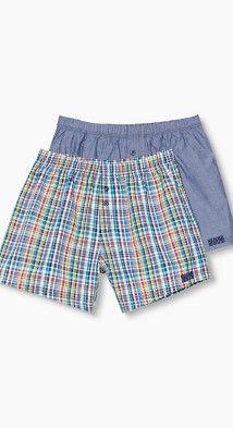 Esprit / Double pack of shorts, 100% cotton