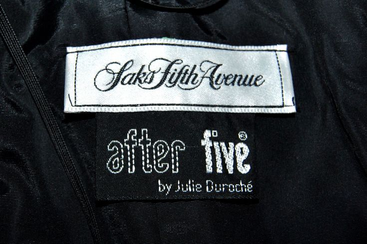 Maker: After Five by Julie Duroche for Saks Fifth Avenue. Condition : Very good condition, but cleaning needed, there is visible dust dirt on the white satin. Otherwise - a great deal for a ball gown and coming from a non-smoking home. | eBay!