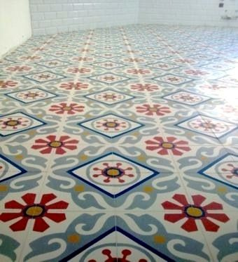 Suelo, Cement encaustic tiles, choose your designs and colors at ARCHARIUM